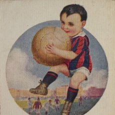 Coleccionismo deportivo: FUT-22. FOOT-BALLISTA. POSTAL PRINCIPIOS SIGLO XX. ILUSTRACION DE CHANTECLER. Nº 590.. Lote 143319558