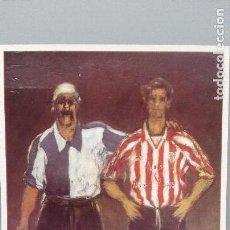 Coleccionismo deportivo: POSTAL CENTENARIO ATHLETIC CON PREFRANQUEO BILBAO VIZCAYA SAN MAMES FUTBOL LIGA PERFECTA CONSERVACIO. Lote 143541106