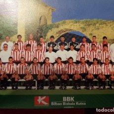 Coleccionismo deportivo: POSTAL OFICIAL ATHLETIC BILBAO 1999 2000 PUENTE VALMASEDA VIZCAYA SAN MAMES FUTBOL LIGA PERFECTA CON. Lote 143542146