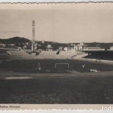 Coleccionismo deportivo: POSTAL STADIUM MUNICIPAL DE LA CORUÑA ACTUAL RIAZOR AÑOS 50. Lote 143592858