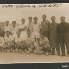 Coleccionismo deportivo: SANTA COLOMA DE GRAMANET-C.F. SANTA COLOMA DE GRAMANET-EQUIPO DE FUTBOL-FOTOGRAFICA-(55.319). Lote 144038646
