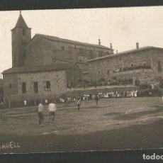 Coleccionismo deportivo: TARADELL-PARTIDO DE FUTBOL-CAMPO DE FUTBOL-POSTAL FOTOGRAFICA ANTIGUA-(55.326). Lote 144041394