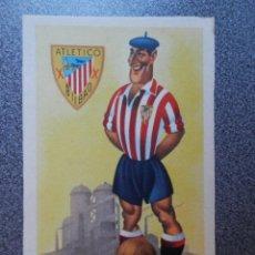 Coleccionismo deportivo: ATLÉTICO DE BILBAO CLUB DE FUTBOL - POSTAL EQUIPOS DE FUTBOL ANTIGUA. Lote 144634538
