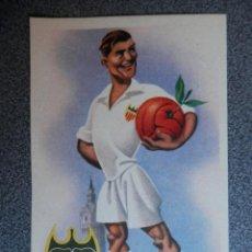 Coleccionismo deportivo: VALENCIA CLUB DE FUTBOL - POSTAL EQUIPOS DE FUTBOL ANTIGUA. Lote 144634858