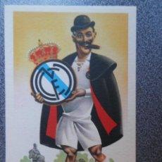 Coleccionismo deportivo: REAL MADRID CLUB DE FUTBOL - POSTAL EQUIPOS DE FUTBOL ANTIGUA. Lote 144635114