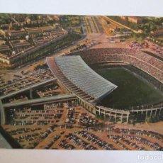 Coleccionismo deportivo: POSTAL ESTADIO C.F. BARCELONA - VIS COLOR Nº 37 - 1965 - ESCRITA SIN CIRCULAR. Lote 145387638