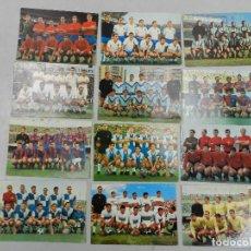 Coleccionismo deportivo: COLECCION DE 12 POSTALES DE EQUIPOS DE FUTBOL DE ESPAÑA. Lote 146253198