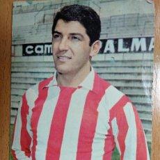 Coleccionismo deportivo: 33. COLLAR - (AT. MADRID) - FOTO. SEGUI - AÑO 1968 - POSTAL OSCAR COLOR. Lote 148049154