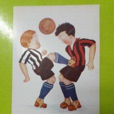 Coleccionismo deportivo: POSTAL UN GOLPE FRANCO RACING Y ESPAÑOL EDICIONES VICTORIA AÑOS 20. Lote 148812694