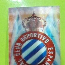Coleccionismo deportivo: POSTAL ESCUDO 3D RCD ESPANYOL ESPAÑOL AÑOS 70. Lote 148814806
