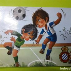 Coleccionismo deportivo: POSTAL RCD ESPANYOL ESPAÑOL AÑOS 70. Lote 148815170
