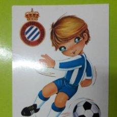 Coleccionismo deportivo: POSTAL RCD ESPANYOL ESPAÑOL AÑOS 70. Lote 148815374
