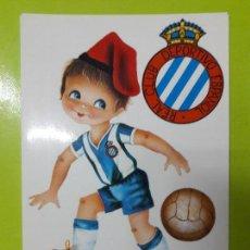 Coleccionismo deportivo: POSTAL RCD ESPANYOL ESPAÑOL AÑOS 70. Lote 148815506
