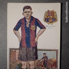 Coleccionismo deportivo: JUGADORES FOOT-BALL - CHOCOLATE AMATLLER - SERIE A NUM. 9, F.C. BARCELONA 1921-22 - CLEMENTE GRACIA. Lote 150078538