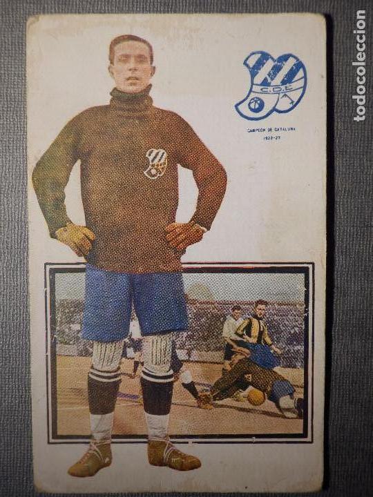 FOOT-BALL - AMATLLER - SERIE C NUM. 1, CLUB ESPORTIU EUROPA - CAMPEÓN DE CATALUÑA 1922-23 - BORDOY (Coleccionismo Deportivo - Postales de Deportes - Fútbol)