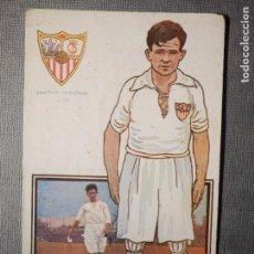 Coleccionismo deportivo: POSTAL AMATLLER - SERIE B NUM. 4, SEVILLA CLUB DE FUTBOL - CAMPEÓN SUR ESPAÑA 1921-22 - HERMINIO. Lote 150092974