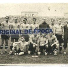 Coleccionismo deportivo: (F-190227)POSTAL FOTOGRAFICA SELECCION CATALANA 1929-ZAMORA,SAMITIER,PLATKO,WALTER,CROS,ETC.. Lote 151356218