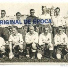 Coleccionismo deportivo: (F-190276)POSTAL FOTOGRAFICA SELECCION INGLATERRA QUE FUE BATIDA POR ESPAÑA 3-4 15-5-1929. Lote 151356834