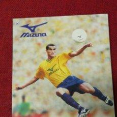 Coleccionismo deportivo: POSTAL PUBLICITARIA MIZUNO- RIVALDO, CON FIRMA IMPRESA.. Lote 151430961
