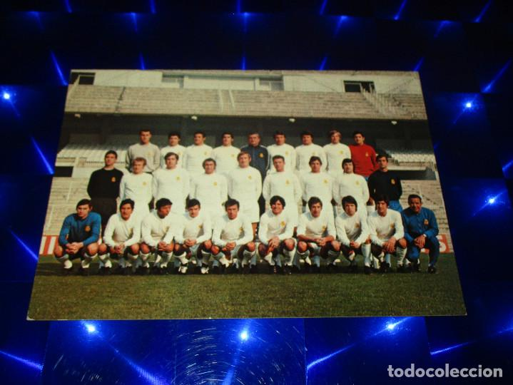 POSTAL REAL MADRID C.F. - PLANTILLA TEMPORADA 71-72 - G-296 - SIN CIRCULAR (Coleccionismo Deportivo - Postales de Deportes - Fútbol)