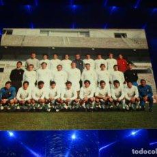 Coleccionismo deportivo: POSTAL REAL MADRID C.F. - PLANTILLA TEMPORADA 71-72 - G-296 - SIN CIRCULAR. Lote 151620646