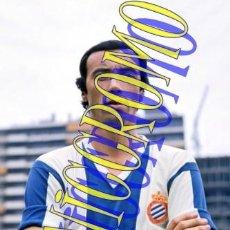 Coleccionismo deportivo: FOTOGRAFIA JUGADOR FUTBOL R. MARTINEZ RCD ESPAÑOL ESPANYOL MUY BUENA CALIDAD TAMAÑO 10X15 NICCROMO. Lote 151901418