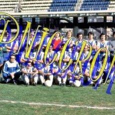 Coleccionismo deportivo: FOTOGRAFIA EQUIPO FUTBOL RCD ESPAÑOL ESPANYOL 1974 1975 MUY BUENA CALIDAD TAMAÑO 10X15 NICCROMO. Lote 151901766