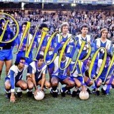Coleccionismo deportivo: FOTOGRAFIA EQUIPO FUTBOL RCD ESPAÑOL ESPANYOL 1976 1977 MUY BUENA CALIDAD TAMAÑO 10X15 NICCROMO. Lote 151901810