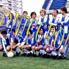 Coleccionismo deportivo: FOTOGRAFIA EQUIPO FUTBOL RCD ESPAÑOL ESPANYOL 1977 1978 MUY BUENA CALIDAD TAMAÑO 10X15 NICCROMO. Lote 151901842