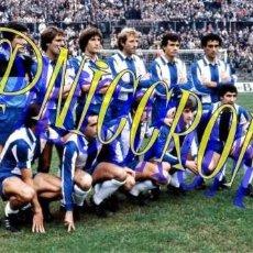 Coleccionismo deportivo: FOTOGRAFIA EQUIPO FUTBOL RCD ESPAÑOL ESPANYOL 1980 1981 MUY BUENA CALIDAD TAMAÑO 10X15 NICCROMO. Lote 151901886
