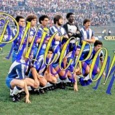 Coleccionismo deportivo: FOTOGRAFIA EQUIPO FUTBOL RCD ESPAÑOL ESPANYOL 1982 1983 MUY BUENA CALIDAD TAMAÑO 10X15 NICCROMO. Lote 151901914