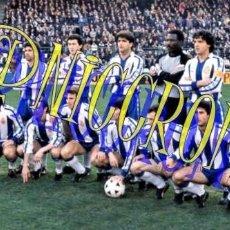 Coleccionismo deportivo: FOTOGRAFIA EQUIPO FUTBOL RCD ESPAÑOL ESPANYOL 1988 1989 MUY BUENA CALIDAD TAMAÑO 10X15 NICCROMO. Lote 151902018