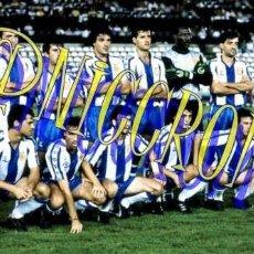 Coleccionismo deportivo: FOTOGRAFIA EQUIPO FUTBOL RCD ESPAÑOL ESPANYOL 1989 1990 MUY BUENA CALIDAD TAMAÑO 10X15 NICCROMO. Lote 151902038