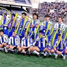 Coleccionismo deportivo: FOTOGRAFIA EQUIPO FUTBOL RCD ESPAÑOL ESPANYOL 1991 1992 MUY BUENA CALIDAD TAMAÑO 10X15 NICCROMO. Lote 151902110