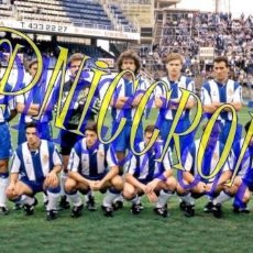 Coleccionismo deportivo: FOTOGRAFIA EQUIPO FUTBOL RCD ESPAÑOL ESPANYOL 1992 1993 MUY BUENA CALIDAD TAMAÑO 10X15 NICCROMO. Lote 151902130
