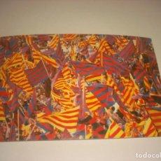 Coleccionismo deportivo: BASILEA , 16 DE MAYO DE 1979. BANCA MAS SARDA , DIVISION F.C. BARCELONA. Lote 151924554