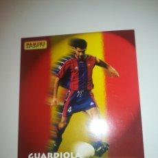 Coleccionismo deportivo: PANINI SPORTS GUARDIOLA 10 CM X 13 CM AÑO 1997. Lote 152151536