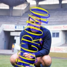 Coleccionismo deportivo: FOTOGRAFIA JUGADOR ALARCIA CELTA MUY BUENA CALIDAD TAMAÑO 10X15 CENTIMETROS NICCROMO. Lote 152400170
