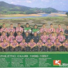 Coleccionismo deportivo: POSTAL ATH. BILBAO 1996/97 96/97 . Lote 152446742
