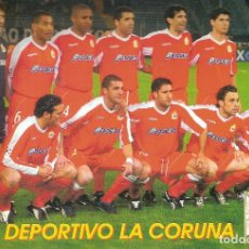 Coleccionismo deportivo: POSTAL RCD CORUÑA . Lote 152447110
