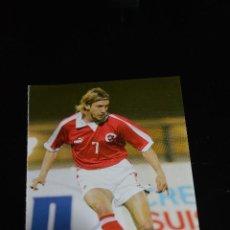 Coleccionismo deportivo: POSTAL DEL FUTBOLISTA JOHAN LONFAT (SUIZA). Lote 152531650