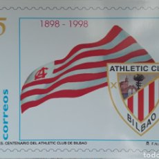 Coleccionismo deportivo: POSTAL CENTENARIO ATHLETIC CLUB BILBAO 1998. Lote 152614677