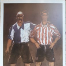 Coleccionismo deportivo: POSTAL CENTENARIO ATHLETIC CLUB BILBAO 1998. Lote 152615004
