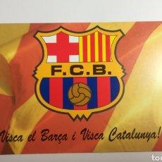 Coleccionismo deportivo: POSTAL - RONALDO FC BARCELONA. Lote 153266286