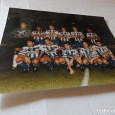 Coleccionismo deportivo: TREMENDA FOTOGRAFIA CREO QUE FIRMADA A MANO SUPER DEPOR: FRAN, BEBETO, ETC AÑO 1997 APROX. Lote 154092538