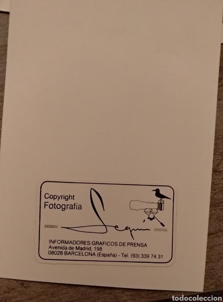 Coleccionismo deportivo: FOTO MIGUELI Y POSTAL BARÇA - Foto 2 - 155367416