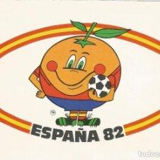 Coleccionismo deportivo: XII CAMPEONATO MUNDIAL DE FUTBOL, ESPAÑA 82 - COLECCION PERLA N-6 - S/C . Lote 155675534