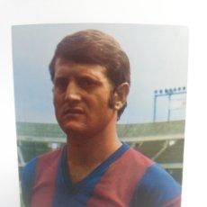 Coleccionismo deportivo: POSTAL JOSE MARIA PEREZ BOIXADERA FC BARCELONA FICHA TECNICA WILLIAMS BARÇA FUTBOL 1973. Lote 156205884