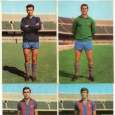 Coleccionismo deportivo: 12 POSTALES DEL F.C.BARCELONA, AÑOS 70, TAMBIÉN SE VENDEN SUELTAS A 6 EUROS UNIDAD . Lote 158373866