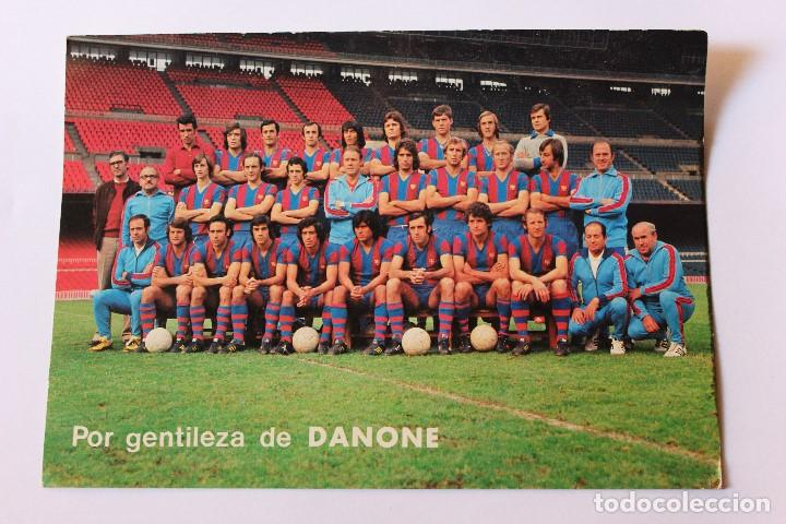 POSTAL C.F BARCELONA (Coleccionismo Deportivo - Postales de Deportes - Fútbol)